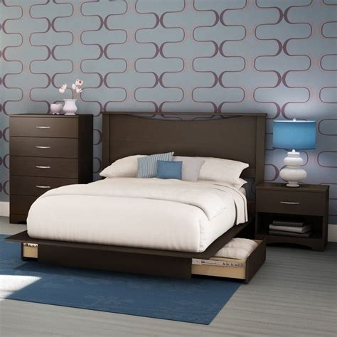south shore bedroom furniture south shore back bay modern 4 platform storage