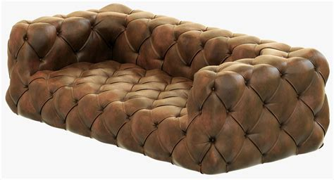 restoration hardware tufted sofa soho tufted sofa model soho tufted leather sofa cgtrader
