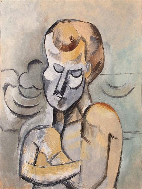 picasso paintings hermitage file pablo picasso 1909 with arms crossed