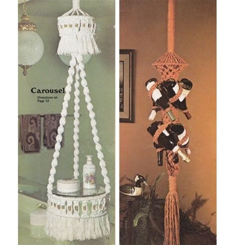 vintage craft ideas and projects 1970 s crafts vintage 1970 s craft book 10 macrame