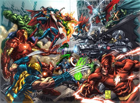 comic vs the difference between marvel and dc comics andymatic