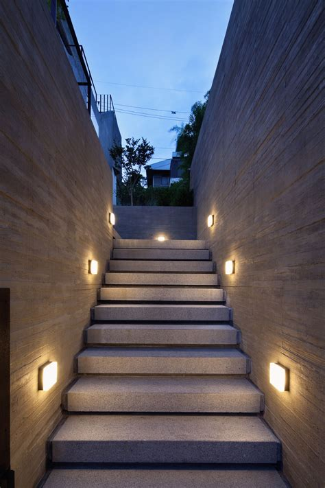 stair lights outdoor outdoor stairs lighting home design