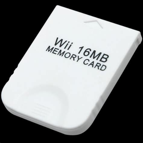how to make a gamecube memory card gamecube wii 16mb 251 blocks memory card at shop ireland