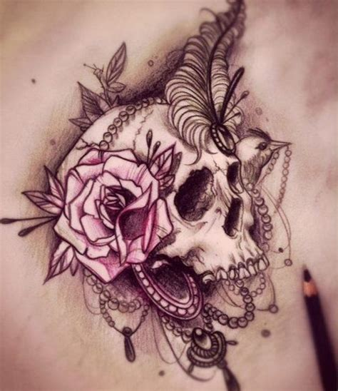 35 amazing skull tattoos for men and women
