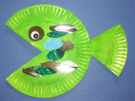 paper plate fish craft paper plate fish on paper plate animals