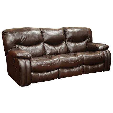 catnapper reclining sofas catnapper arlington leather reclining sofa in mahogany