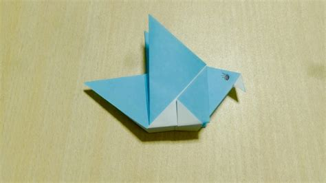 paper folding crafts for easy diy craft bird origami the of folding paper my