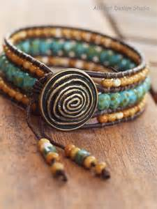 how to make a beaded wrap bracelet american hippie boh 233 me jewelry beaded wrap bracelet
