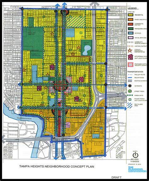 neighborhood plans ta heights neighborhood plan central florida