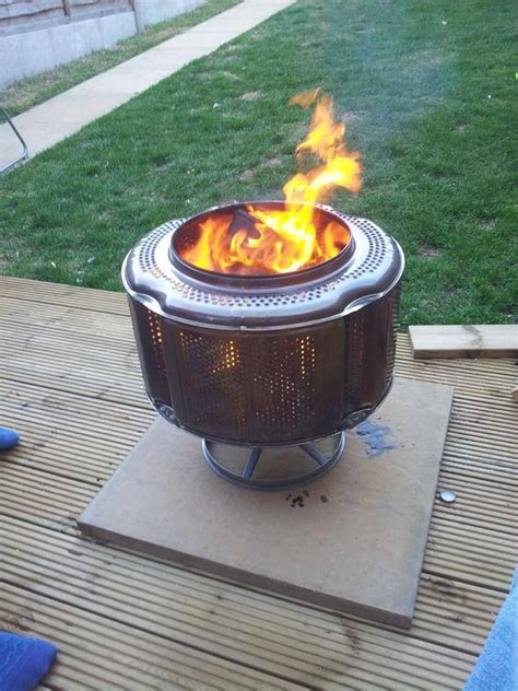 washing machine firepit washing machine washing machine drum pit