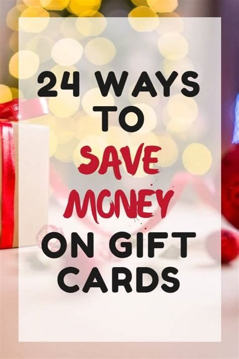 how to make money with gift cards how to save money on gift cards
