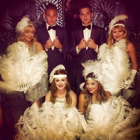 great themes great gatsby theme dancers amax entertainment