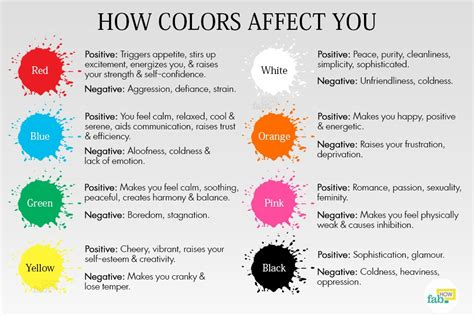 paint colors emotions how to change your mood with colors fab how