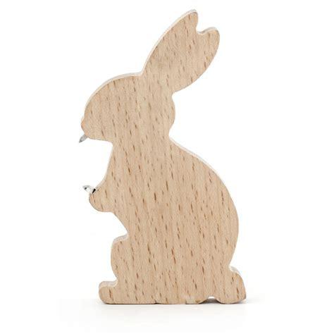 rabbit woodworking wooden rabbit bottle opener