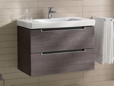 Badezimmermöbel Luxemburg villeroy boch subway 2 0 waschtischunterschrank mit