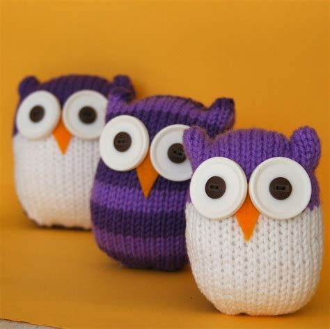 knitting patterns for owls and easy owl instant pdf knitting pattern