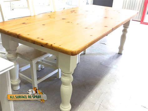 spray paint kitchen table furniture spray painting restoration