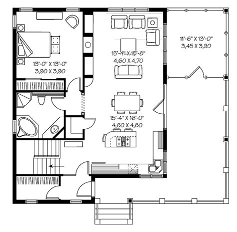 bedroom plans amazing one bedroom house plans 1 print this floor plan