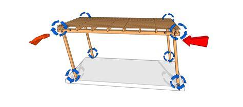 Garage Plans With Carport les jambes ou bras de contreventement pergolas et