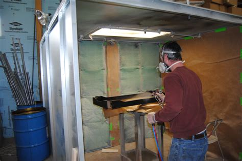 spray painting booths image gallery open spray booth