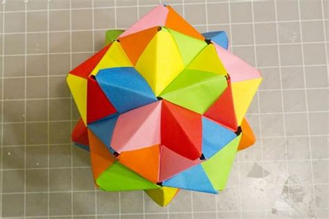 what can you make with origami modular origami how to make a cube octahedron