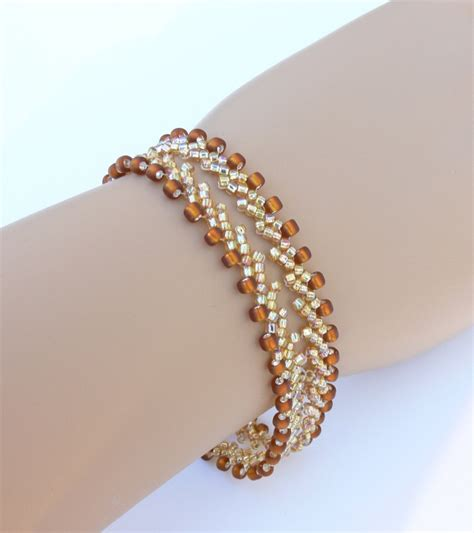 beaded bracelets beadweaving bracelet beaded bracelet seed bracelet