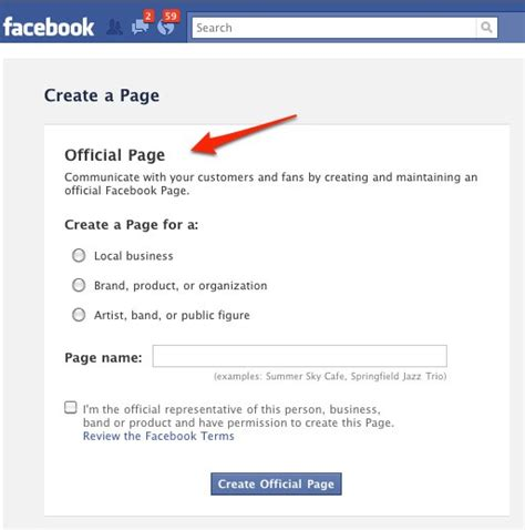 how to make a page how to create a page for your business