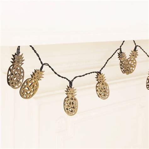 pineapple string lights pineapple led string lights by