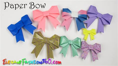 how to make paper crafts at home diy paper crafts bowribbon and easy how to origami