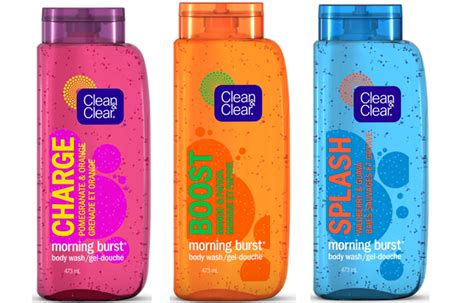 bursting clean and clear new affordable clean clear morning burst