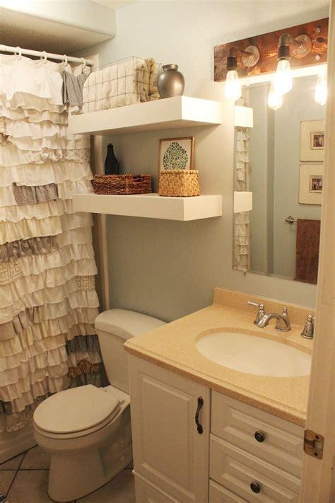 bathroom cabinet shelves diy bathroom floating shelves