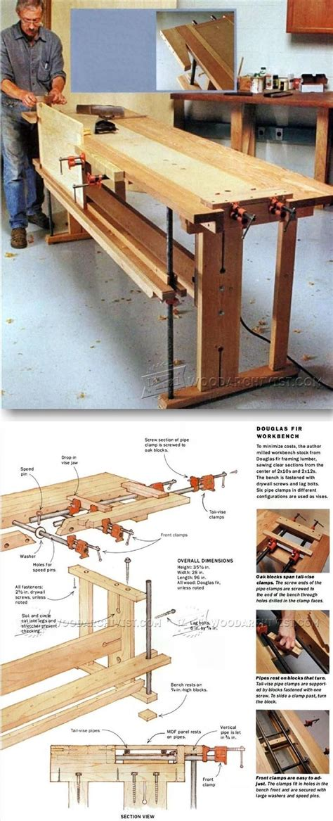 woodworking tips and tricks workbench plans workshop solutions plans tips and