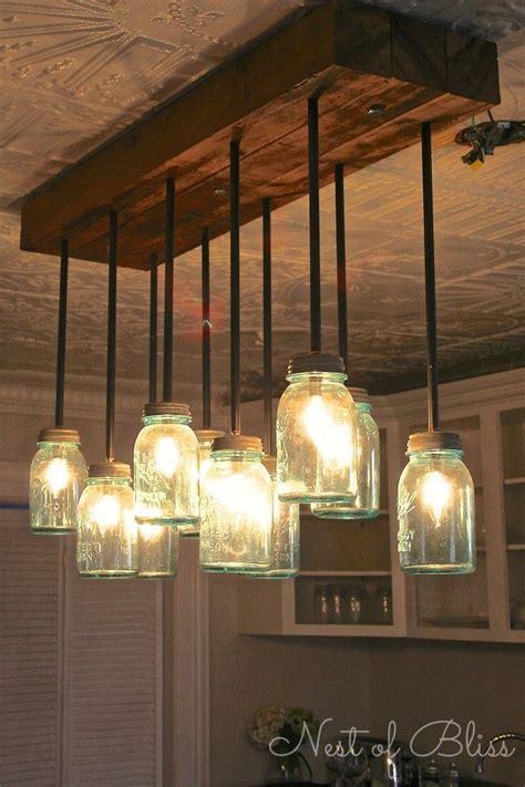 diy dining room light 25 best ideas about jar chandelier on