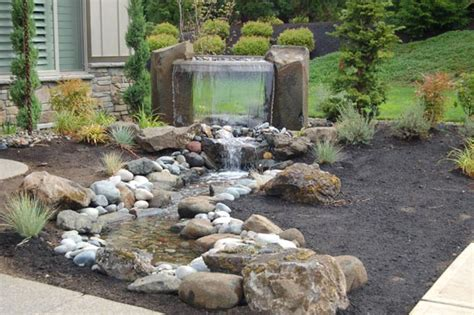 rock garden features great front yard features to boost your curb appeal