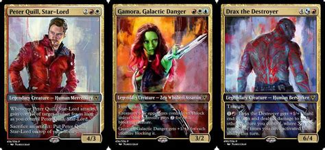 how to make a magic the gathering card guardians of the galaxy magic the gathering cards set