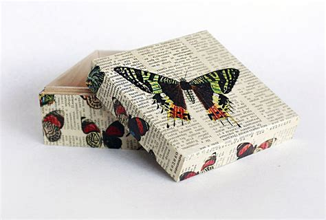 wooden decoupage boxes keepsake box memory box decoupage box jewelry by