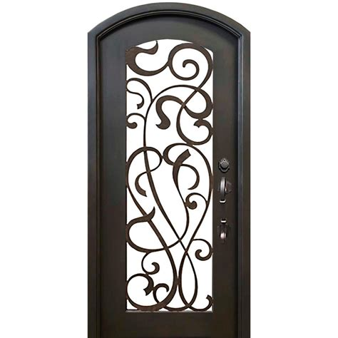 home depot wrought iron paint florida iron doors 40 in x 82 in eyebrow st