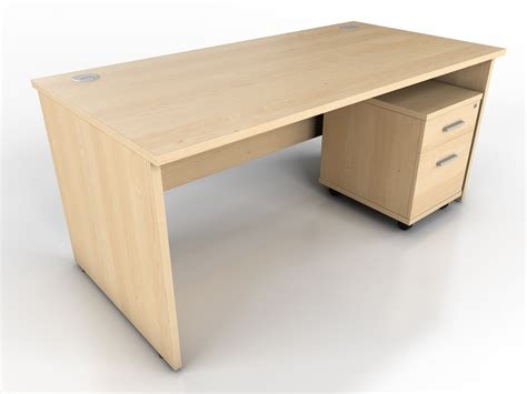 maple office furniture maple panel end desk icarus office furniture