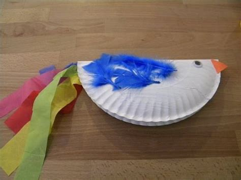 paper plate parrot craft paper plate bird craft another creation craft for