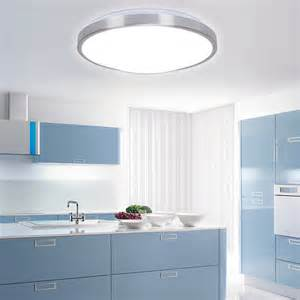 kitchen ceiling lights led 2015 modern aluminum acryl silver border led ceiling