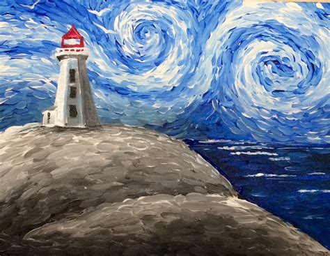 paint nite yerman s paint nite peggy s cove lighthouse saultonline