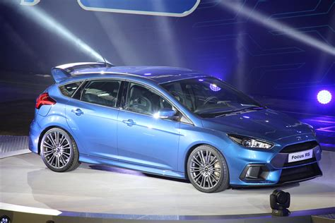 2015 Ford Focus Rs by 2015 Ford Focus Rs Live Der Weltpremiere