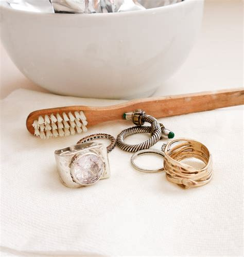how to make jewelry cleaner diy jewelry cleaner popsugar smart living