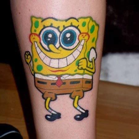 spongebob tattoo photo tattoo designs