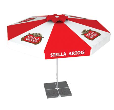logo patio umbrellas hopsltipobul stella artois patio umbrella