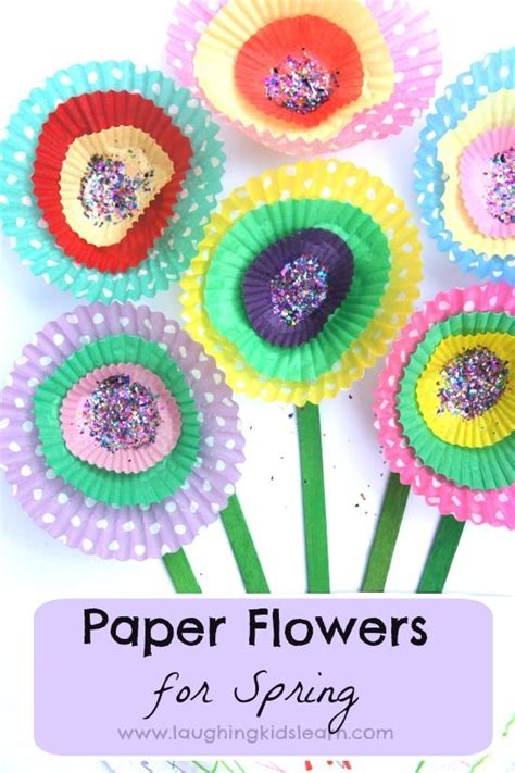 paper cupcake craft cupcake paper flowers crafts and flowers