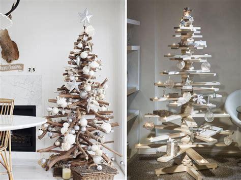modelos de decoraciones de arboles de navidad ideas para 193 rboles de navidad con madera decoracion de