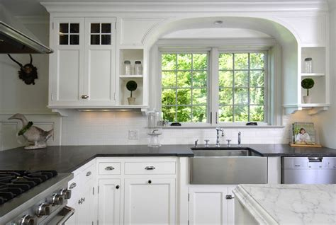 countertops with white kitchen cabinets soapstone countertops transitional kitchen muse