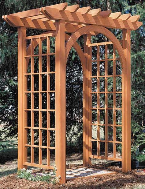 Garden Arbor Plans Arbor Plan Take A Closer Look Arche Wedding
