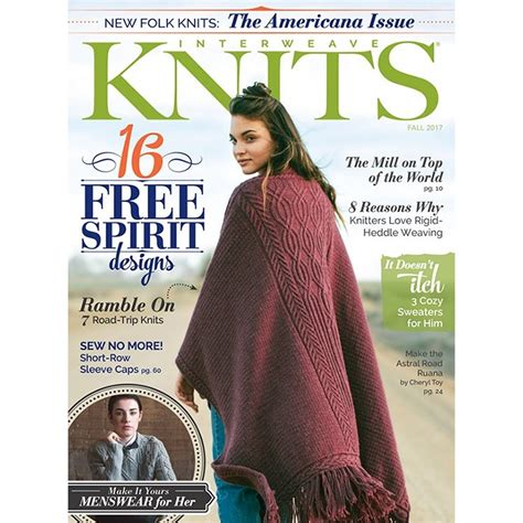 interweave knits magazine interweave knits magazine 17 fall at jimmy beans wool